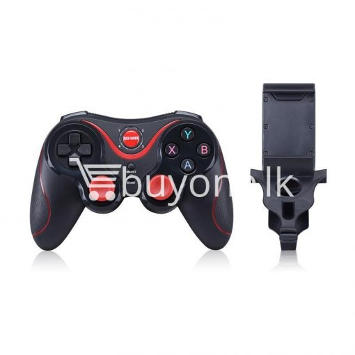 gen game s5 wireless bluetooth controller gamepad for ios android os phone tablet pc smart tv with holder special best offer buy one lk sri lanka 00569 510x510 - GEN GAME S5 Wireless Bluetooth Controller Gamepad For IOS Android OS Phone Tablet PC Smart TV With Holder