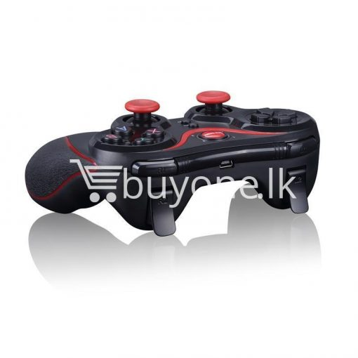 gen game s5 wireless bluetooth controller gamepad for ios android os phone tablet pc smart tv with holder special best offer buy one lk sri lanka 00570 510x510 - GEN GAME S5 Wireless Bluetooth Controller Gamepad For IOS Android OS Phone Tablet PC Smart TV With Holder