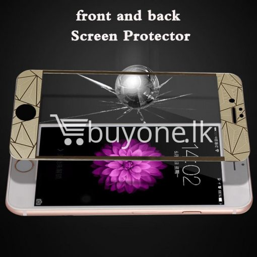 original latest new full 3d protect front and back tempered glass for iphone6 iphone6s iphone6s plus mobile phone accessories special best offer buy one lk sri lanka 95742 510x510 - Original Latest New Full 3D Protect Front and Back Tempered Glass  For iphone6 iphone6s iphone6s plus
