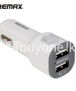 remax car charger dual usb port charger for iphone samsung htc smart phones automobile store special best offer buy one lk sri lanka 53706 247x296 - Remax Car Charger Dual USB Port Charger For iPhone Samsung HTC Smart Phones