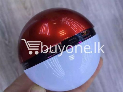 12000mah universal pokeball charger pokemons go power bank mobile phone accessories special best offer buy one lk sri lanka 98396 510x382 - 12000Mah Universal Pokeball Charger Pokemons Go Power bank