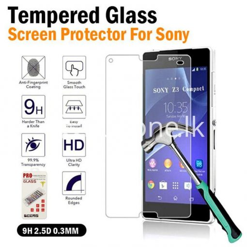2.5d 0.3 mm lcd clear tempered glass screen protector for sony xperia z1 z2 z3 z4 more mobile phone accessories special best offer buy one lk sri lanka 23531 510x510 - 2.5D 0.3 mm LCD Clear Tempered Glass Screen Protector For Sony Xperia Z1 Z2 Z3 Z4 More