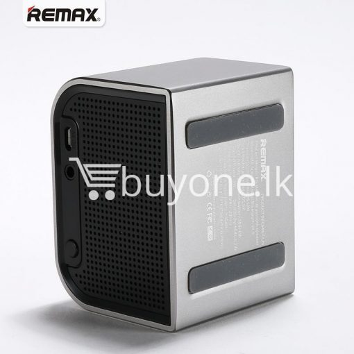remax m8 mini desktop bluetooth 4.0 speaker deep bass aluminum mobile phone accessories special best offer buy one lk sri lanka 60112 510x510 - Remax M8 Mini Desktop Bluetooth 4.0 Speaker Deep Bass Aluminum