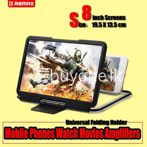remax 3d enlarged 8inch screen effect mobile phones zoom magnifying glass for iphone android mobile phone accessories special best offer buy one lk sri lanka 91316 510x510 - Remax 3D Enlarged 8inch Screen Effect Mobile Phones Zoom Magnifying Glass For iPhone Android