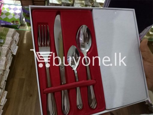 24 pieces tableware set stainless steel tableware home and kitchen special best offer buy one lk sri lanka 99647 510x383 - 24 Pieces Tableware Set - Stainless Steel Tableware