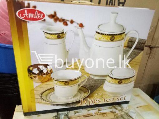 amilex 17pcs tea set home and kitchen special best offer buy one lk sri lanka 99444 510x383 - Amilex 17pcs tea set