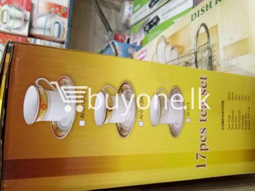 amilex 17pcs tea set home and kitchen special best offer buy one lk sri lanka 99445 510x383 - Amilex 17pcs tea set