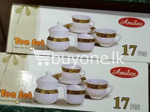 amilex 17pcs tea set service for 6 persons home and kitchen special best offer buy one lk sri lanka 99497 510x383 - Amilex 17pcs Tea Set Service For 6 Persons