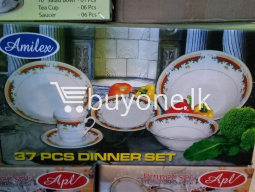 amilex 37pcs dinner set home and kitchen special best offer buy one lk sri lanka 99531 510x383 - Amilex 37pcs Dinner Set