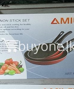 amilex 4pcs non stick set for healthy and light food home and kitchen special best offer buy one lk sri lanka 99501 247x296 - Amilex 4Pcs Non Stick Set For Healthy and Light Food