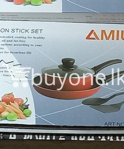 amilex 5pcs non stick set for healthy and light food home and kitchen special best offer buy one lk sri lanka 99505 247x296 - Amilex 5Pcs Non Stick Set For Healthy and Light Food