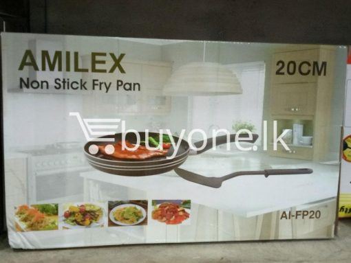amilex non stick fry pan 20cm home and kitchen special best offer buy one lk sri lanka 99493 510x383 - Amilex Non Stick Fry Pan 20CM