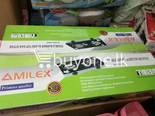 amilex primier quality double burner glass top gas stove home and kitchen special best offer buy one lk sri lanka 99450 510x383 - Amilex Primier quality Double Burner Glass Top Gas Stove