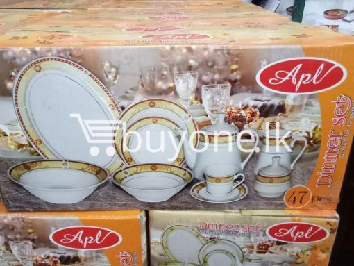 apl 47pcs dinner set service for 12 persons home and kitchen special best offer buy one lk sri lanka 99527 510x383 - APL 47pcs Dinner Set Service for 12 Persons
