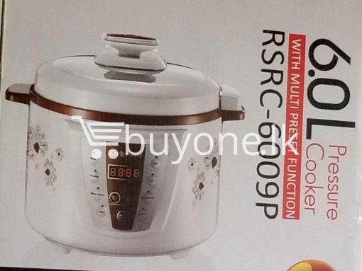 richsonic enrich your lifestyle 6 litre pressure cooker with multi preset function home and kitchen special best offer buy one lk sri lanka 99424 510x383 - Richsonic Enrich your lifestyle 6 Litre Pressure Cooker with Multi Preset Function