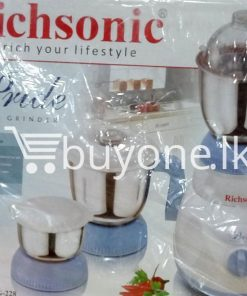 richsonic enrich your lifestyle pride mixer grinder rhmg 228 home and kitchen special best offer buy one lk sri lanka 99457 247x296 - Richsonic Enrich your lifestyle Pride Mixer Grinder RHMG-228