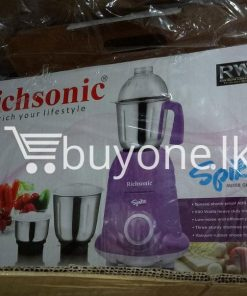 richsonic enrich your lifestyle spike mixer grinder with special shock proof abs body home and kitchen special best offer buy one lk sri lanka 99474 247x296 - Richsonic Enrich your lifestyle Spike Mixer Grinder with Special Shock Proof ABS Body