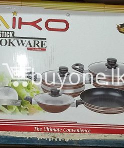 taiko non stick cookware 7pcs full set induction bottom healthy cooking home and kitchen special best offer buy one lk sri lanka 99435 247x296 - Taiko Non Stick Cookware 7pcs Full Set Induction Bottom Healthy Cooking