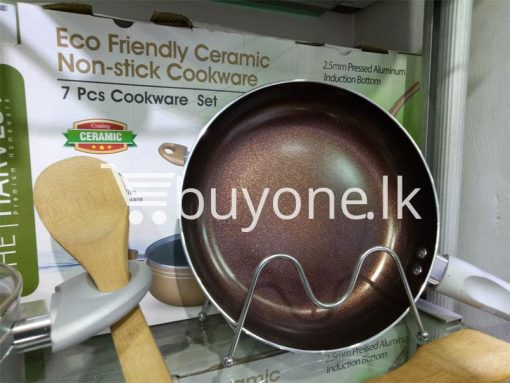 the harvest premium homeware eco friendly ceramic non stick 7pcs cookware set home and kitchen special best offer buy one lk sri lanka 99601 510x383 - The Harvest Premium Homeware-Eco Friendly Ceramic Non-Stick 7pcs Cookware Set