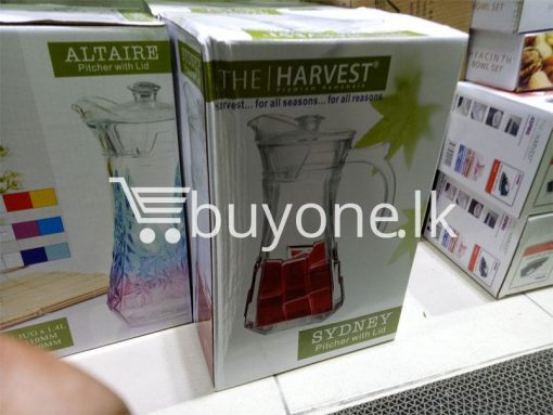 the harvest premium homeware sydney pitcher with lid harvest for all seasons for all reasons home and kitchen special best offer buy one lk sri lanka 99724 510x383 - The Harvest Premium Homeware-Sydney Pitcher with Lid Harvest for all seasons for all reasons