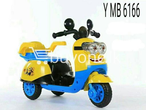 ymb6166 minion motor bike rechargeable toy baby care toys special best offer buy one lk sri lanka 15279 510x383 - YMb6166 Minion Motor Bike Rechargeable Toy