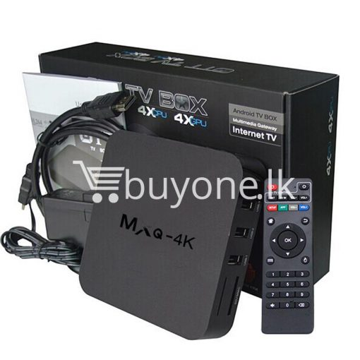 mxq 4k smart tv box kodi 15.2 preinstalled android 5.1 1g8g h.264h.265 10bit wifi lan hdmi dlna airplay miracast mobile phone accessories special best offer buy one lk sri lanka 50933 510x510 - MXQ 4K Smart TV Box KODI 15.2 Preinstalled Android 5.1 1G/8G H.264/H.265 10Bit WIFI LAN HDMI DLNA AirPlay Miracast