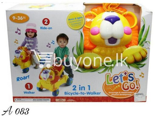 2in1 bicycle to walker lets go baby care toys special best offer buy one lk sri lanka 51378 510x383 - 2in1 Bicycle to Walker Lets Go