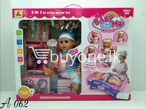 2in1 my little doctor set baby and me baby care toys special best offer buy one lk sri lanka 51207 510x383 - 2in1 My Little Doctor Set-Baby and Me