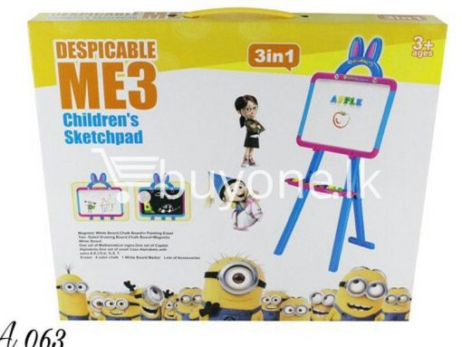 3in1 despicable me 3 childrens sketchpad baby care toys special best offer buy one lk sri lanka 51386 510x383 - 3in1 DESPICABLE ME 3 Childrens SketchPad