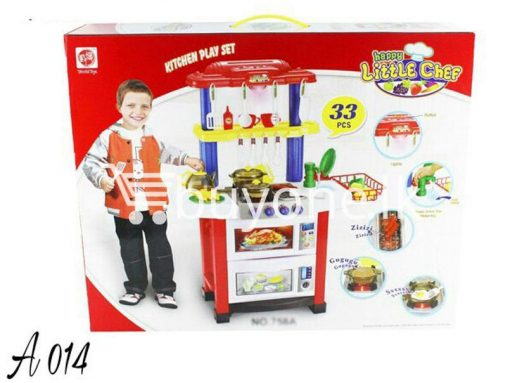 happy little chef kitchen play 33pcs set baby care toys special best offer buy one lk sri lanka 51235 510x383 - Happy Little Chef Kitchen Play 33pcs Set