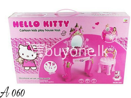 hello kitty cartoon kids play house toys education set sail baby care toys special best offer buy one lk sri lanka 51357 510x383 - Hello Kitty Cartoon Kids play house toys Education Set Sail