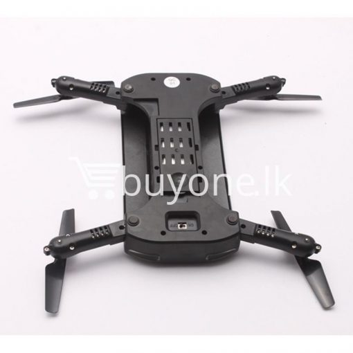 mini selfie tracker foldable pocket rc quadcopter drone altitude hold fpv with wifi camera mobile store special best offer buy one lk sri lanka 30754 510x510 - Mini Selfie Tracker Foldable Pocket RC Quadcopter Drone Altitude Hold FPV with WIFI Camera