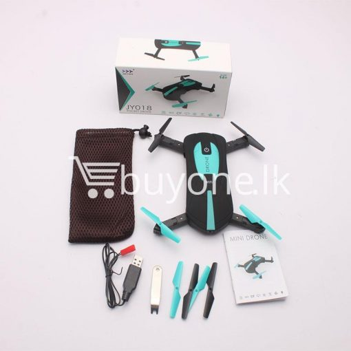 original jy018 advance pocket drone with hd wifi camera foldable g sensor mobile phone accessories special best offer buy one lk sri lanka 07576 510x510 - Original JY018 Advance Pocket Drone with HD WiFi Camera Foldable G-sensor