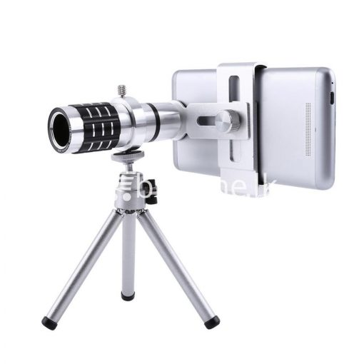 12x zoom camera telephoto telescope lens mount tripod kit for iphone xiaomi samsung huawei htc universal mobile phone accessories special best offer buy one lk sri lanka 06545 510x510 - 12X Zoom Camera Telephoto Telescope Lens + Mount Tripod Kit For iPhone Xiaomi Samsung Huawei HTC Universal