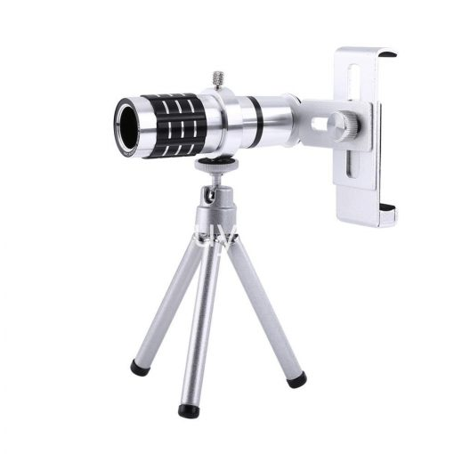 12x zoom camera telephoto telescope lens mount tripod kit for iphone xiaomi samsung huawei htc universal mobile phone accessories special best offer buy one lk sri lanka 06550 510x510 - 12X Zoom Camera Telephoto Telescope Lens + Mount Tripod Kit For iPhone Xiaomi Samsung Huawei HTC Universal