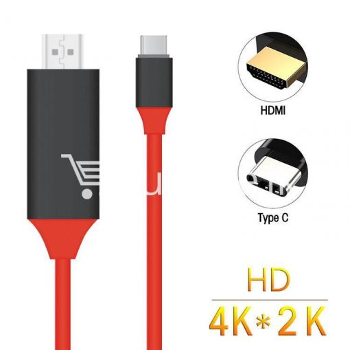 usb type c to hdmi 4k hdtv cable limited edition connect any usb type c to your tvprojector mobile phone accessories special best offer buy one lk sri lanka 44714 510x509 - USB Type C to HDMI 4k HDTV Cable Limited Edition Connect any USB Type C to your TV/Projector