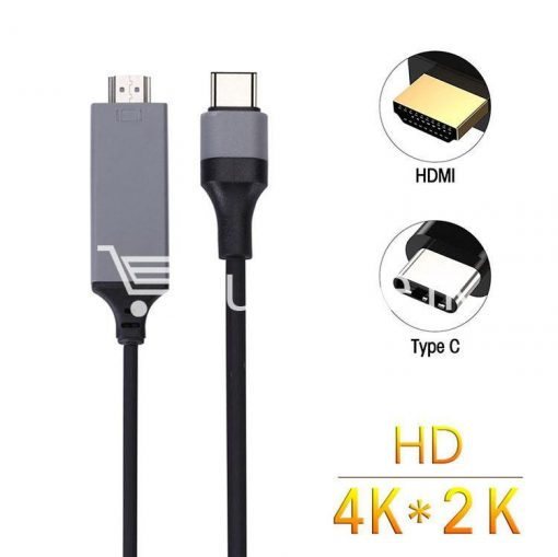 usb type c to hdmi 4k hdtv cable limited edition connect any usb type c to your tvprojector mobile phone accessories special best offer buy one lk sri lanka 44716 510x509 - USB Type C to HDMI 4k HDTV Cable Limited Edition Connect any USB Type C to your TV/Projector