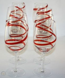 pier pier one red swirline swirl set 1 59d786e6f960f0b47c95fc983ed17a7a 2 247x296 - Red Swril Stemmed Wine Glasses Set Of 6