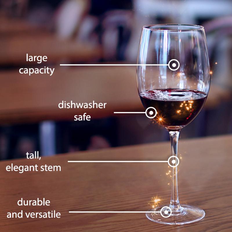 wine glass 2 - Clear Wine Glasses Set Of 6