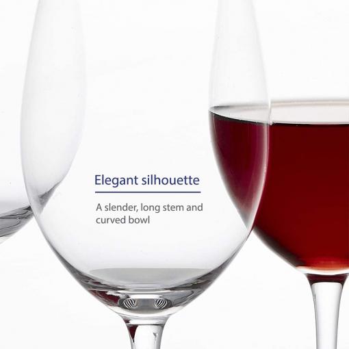 wine glass 6 510x510 - Clear Wine Glasses Set Of 6