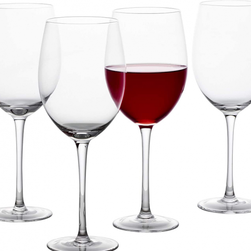 wine glass 7 510x510 - Clear Wine Glasses Set Of 6
