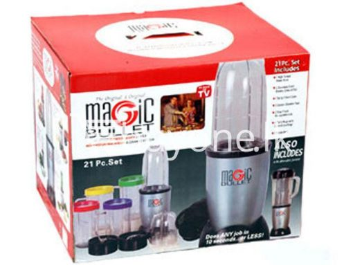 21 piece Magic Bullet Blender with warranty buyone lk sri lanka chrismas offer 4 510x383 - Magic Bullet Blender 21 piece with warranty : Limited Stock