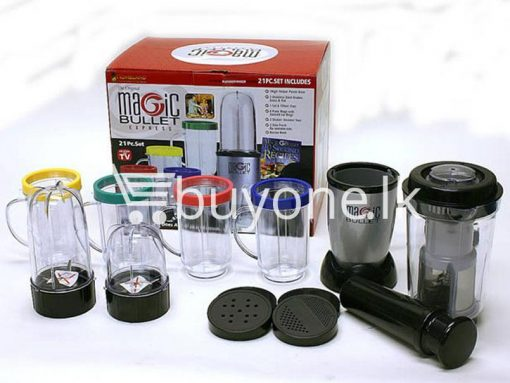 21 piece Magic Bullet Blender with warranty buyone lk sri lanka chrismas offer 5 510x383 - Magic Bullet Blender 21 piece with warranty : Limited Stock