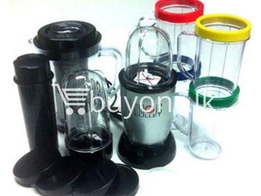 21 piece Magic Bullet Blender with warranty buyone lk sri lanka chrismas offer 6 510x383 - Magic Bullet Blender 21 piece with warranty : Limited Stock