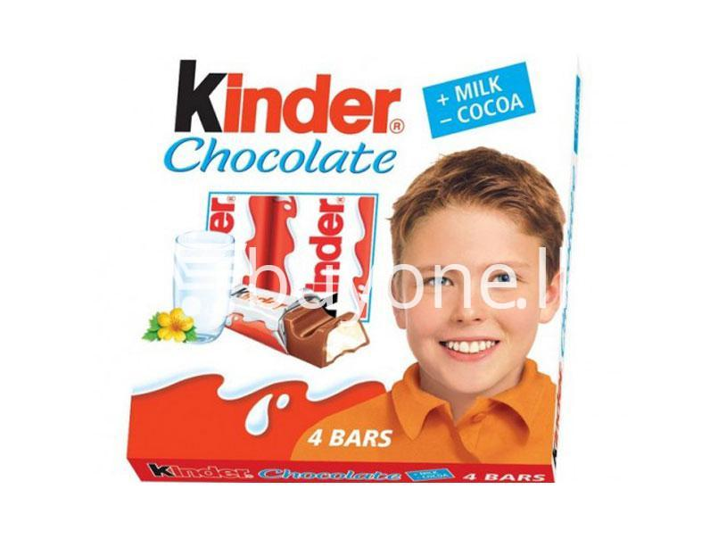 3b646d9fd54536 kinder chocolate 4 bars new food items sale offer in sri lanka buyone lk  510x383 -