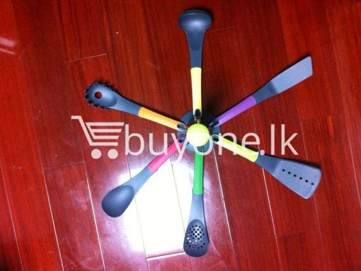 happily home living 6 piece colour kitchen gadget set for sale sri lanka brand new buyone lk send gift offers 2 510x383 - Happily Home Living 6 Piece Colour Kitchen Spoon Gadget Set