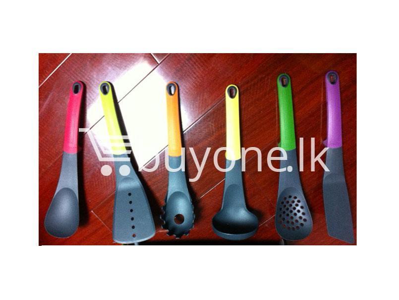 Happily Home Living 6 Piece Colour Kitchen Spoon Gadget Set
