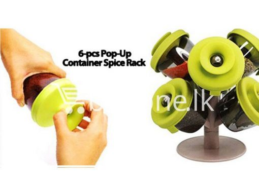 pop up standing spice rack 6 pieces fine life for sale sri lanka brand new buy one lk send gift offers 9 510x383 - Pop Up Standing Spice Rack (6 Pieces) Fine life