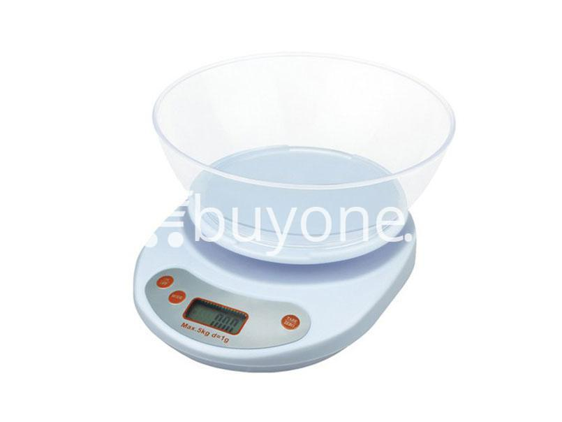 eeca74b6cfab Portable Electronic Kitchen Scale LCD Display Digital with Bowl