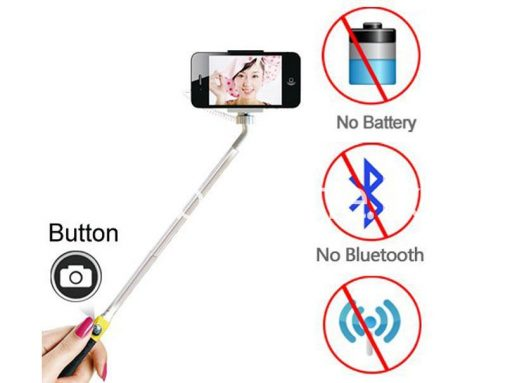 selfie stick with free built in selfie button sri lanka brand new buyone lk send gift offer 2 510x383 - Selfie Stick with Free Built in Selfie Button Version 2.0